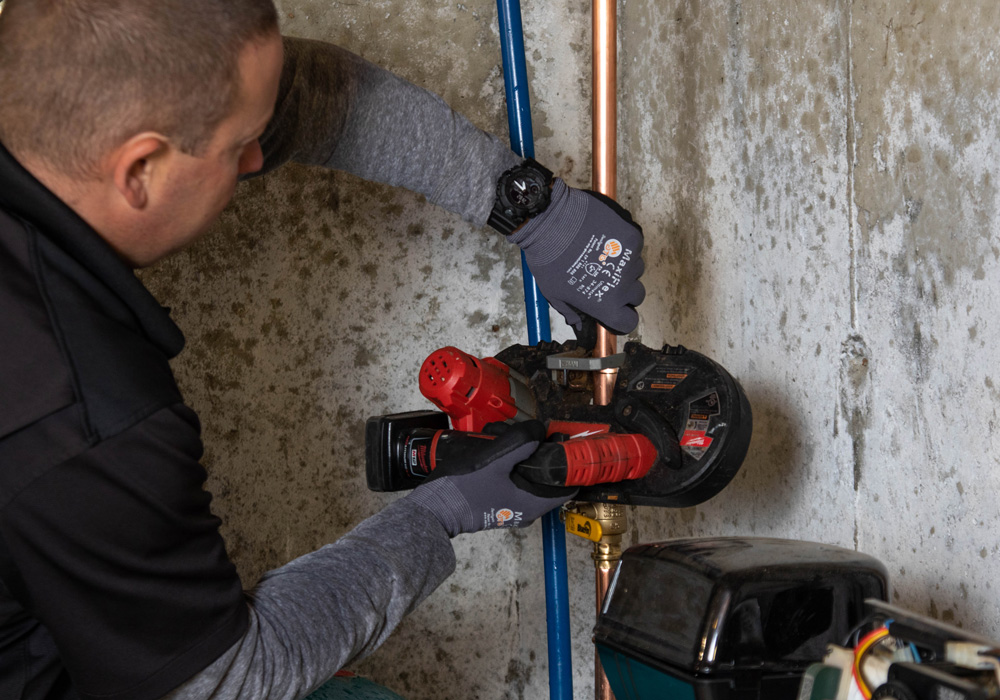 Installing a Water Softening System in a Residential NH Home
