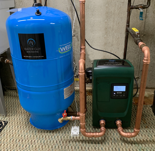 Water Pressure Booster Installations for New Hampshire